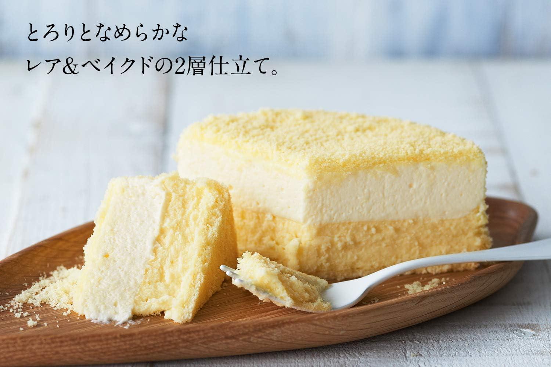 LeTAO(ルタオ) お中元 ギフト ケーキ チーズケーキ ドゥーブルフロマージュ ホール 4号(2~3人分)