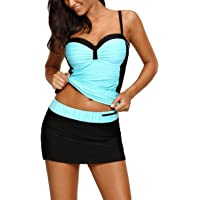 Amazon Best Sellers: Best Women's Athletic Two-Piece Swimsuits
