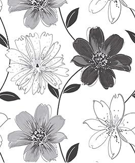 Superfresco Camille Floral White Wallpaper