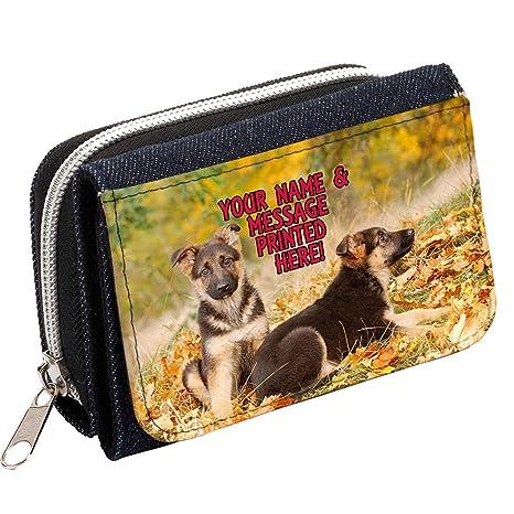 Personalizado Alsacia de pastor alemán Cachorros st327 Mujer ...