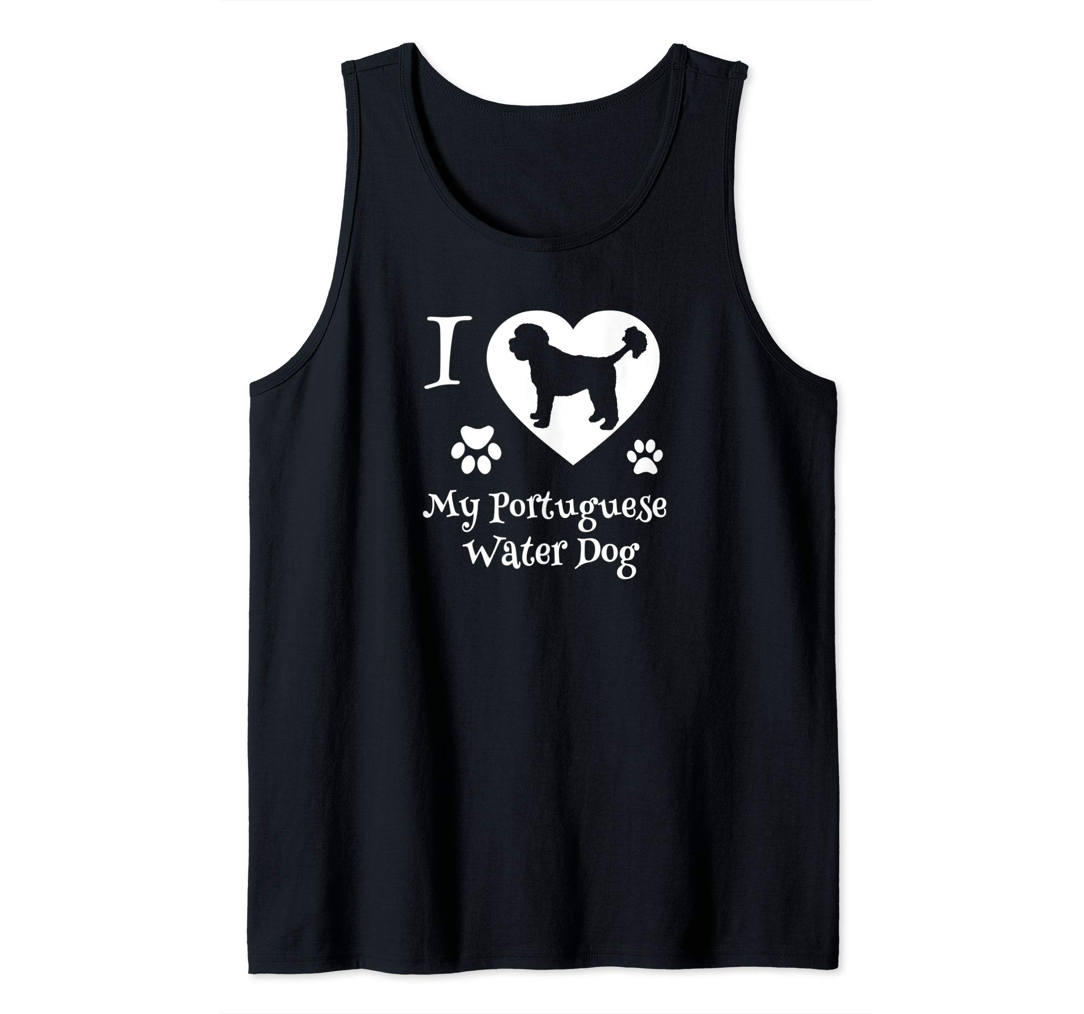 Portuguese Water Dog Gifts for Portuguese Water Dog Lovers Tank Top 1