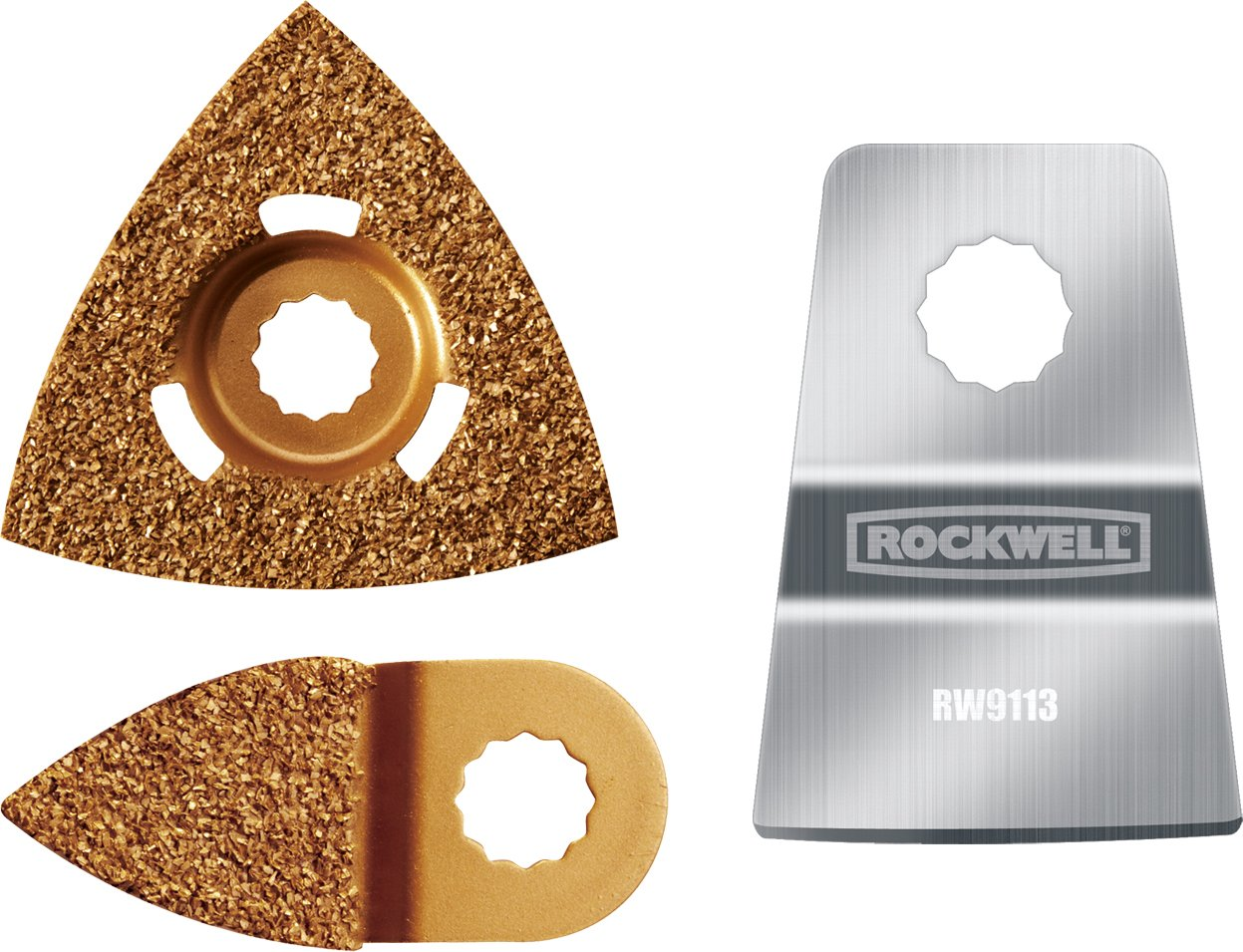 Rockwell RW9175K Paint Removal Kit for SonicCrafter (includes 1 Scraper and 2 Rasps)