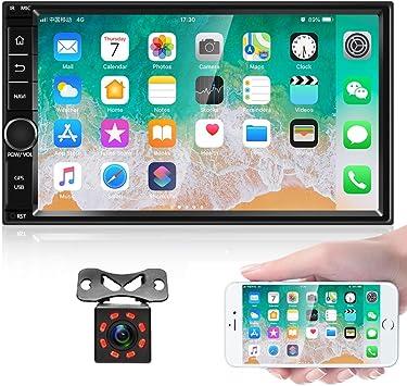Android 8 1 Autoradio Stereo Empfänger Doppel Din 7 Elektronik