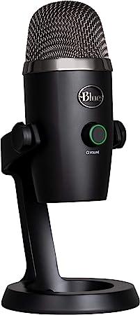 Blue Microphones Yeti Nano Usb Mikrofon Für Aufnahme Und Streaming Auf Pc Und Mac Verstellbares Stativ Plug Und Play Schwarz Musikinstrumente