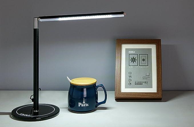 Lampada da Tavolo Dimmerabile, LIHAO 4.5W 24LEDs Lampada da ...