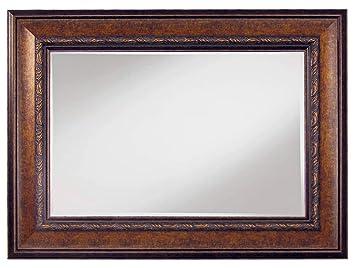 Amazon.com: Home Decorative Framed Wall Mirror, Antique Copper ...