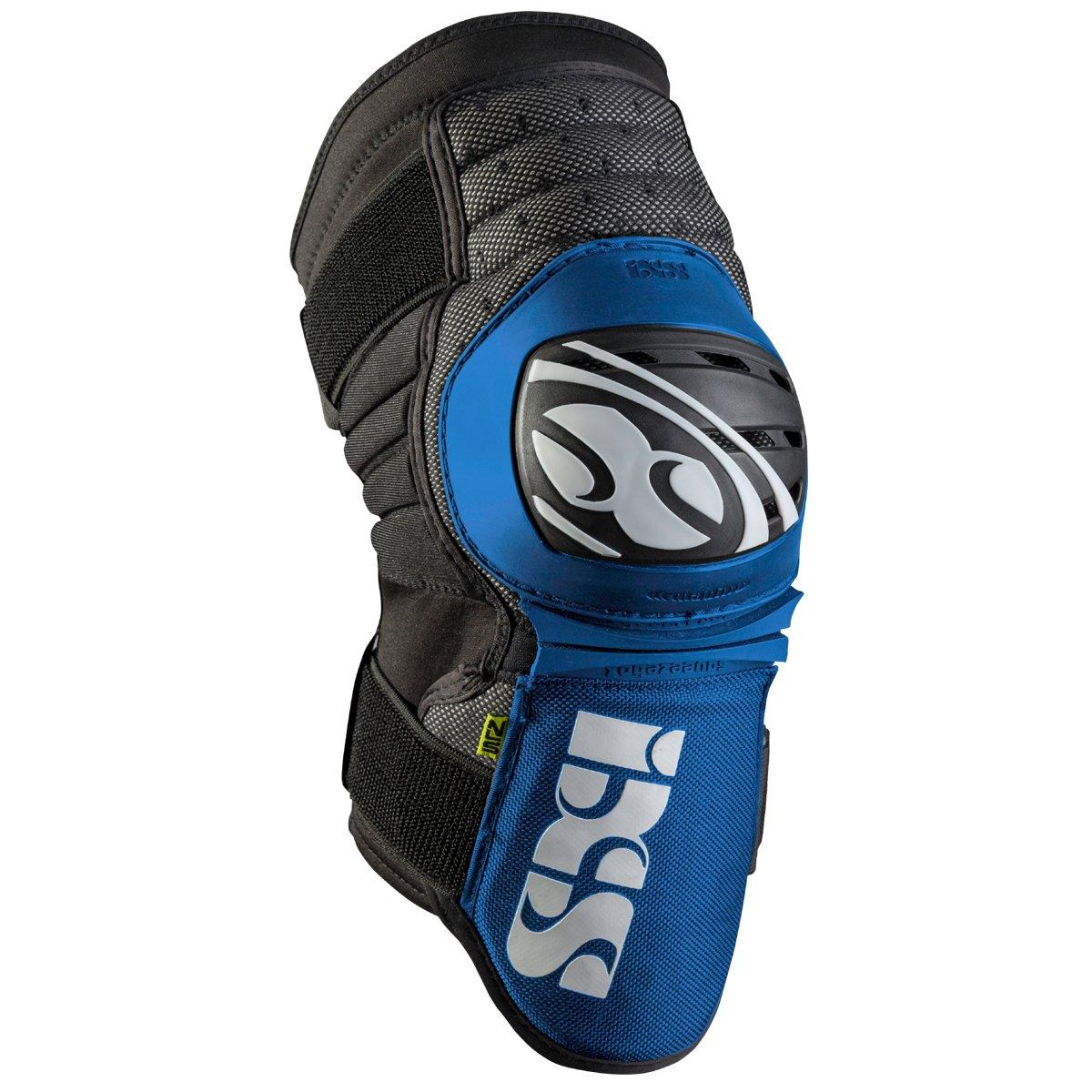 IXS Dagger Knee/Shin Guard - 482-510-3605 (Blue (D'Claw) - XL) by IXS