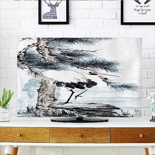 Philiphome Protect Your TV Crane Bird - Pintura de Tinta China ...