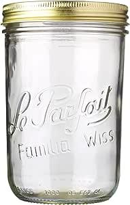 Le Parfait Familia Wiss Terrines Jar 1L, 11cm Diameter (922929)