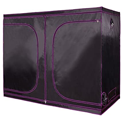 Apollo Horticulture 96u201dx48u201dx80u201d Mylar Hydroponic Grow Tent for Indoor Plant Growing  sc 1 st  Amazon.com & Amazon.com : Apollo Horticulture 96