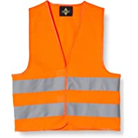 Korntex Chaleco reflectante KWO100XS para niños estándar, naranja, XS