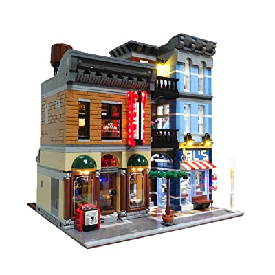 Brick Loot Lighting Kit for Your Lego Detective's Office Set 10246 (Lego Detective Set not Included): Toys & Games