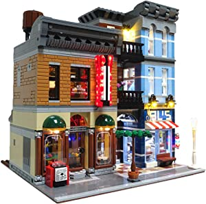 Brick Loot Lighting Kit for Your Lego Detective's Office Set 10246 (Lego Detective Set not Included)