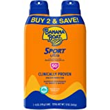 Banana Boat Ultra Sport Reef Friendly Sunscreen Spray, Broad Spectrum SPF 50, 6 Ounces - Twin Pack