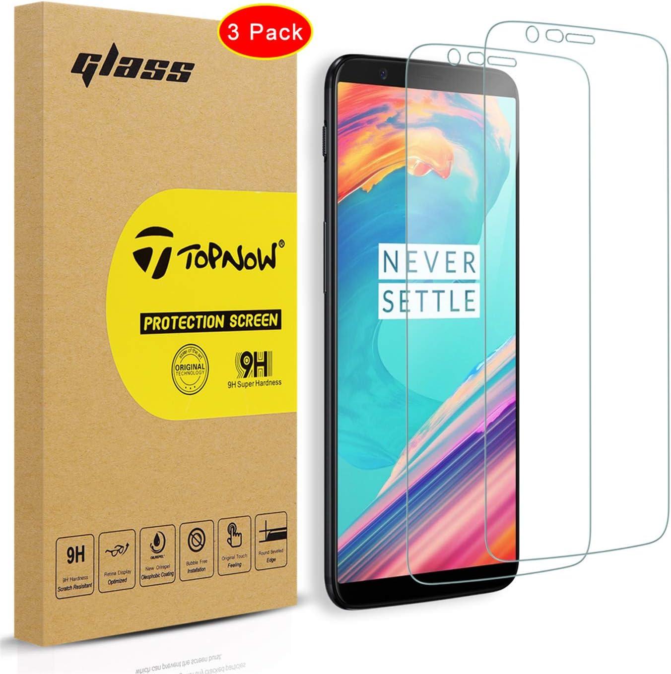 Topnow [3 Paquetes de Protector de Pantalla OnePlus 5T, 2.5D ...