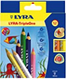 Lyra Triple One L3641121 Etui de 12 crayons Couleurs Assorties