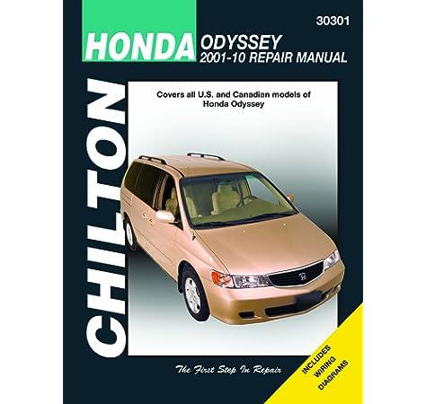 Chilton Total Car Care Honda Odyssey 2001 2010 Repair Manual Chilton S Total Care Chilton 0035675303019 Amazon Com Books