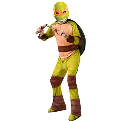 Teenage Mutant Ninja Turtles Michelangelo Costume, Medium: Toys & Games