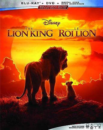 The Lion King 2019 Blu Ray Dvd Digital Bilingual Amazon
