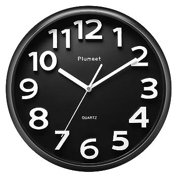 Plumeet Large Modern Wall Clock
