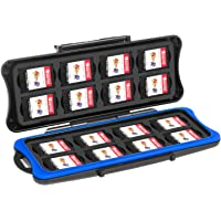 Nintendo Switch Game Card Case- Younik Game Card Storage Box with 16 Game Card Slots and 16 Micro SD Card holders for Nintendo Switch