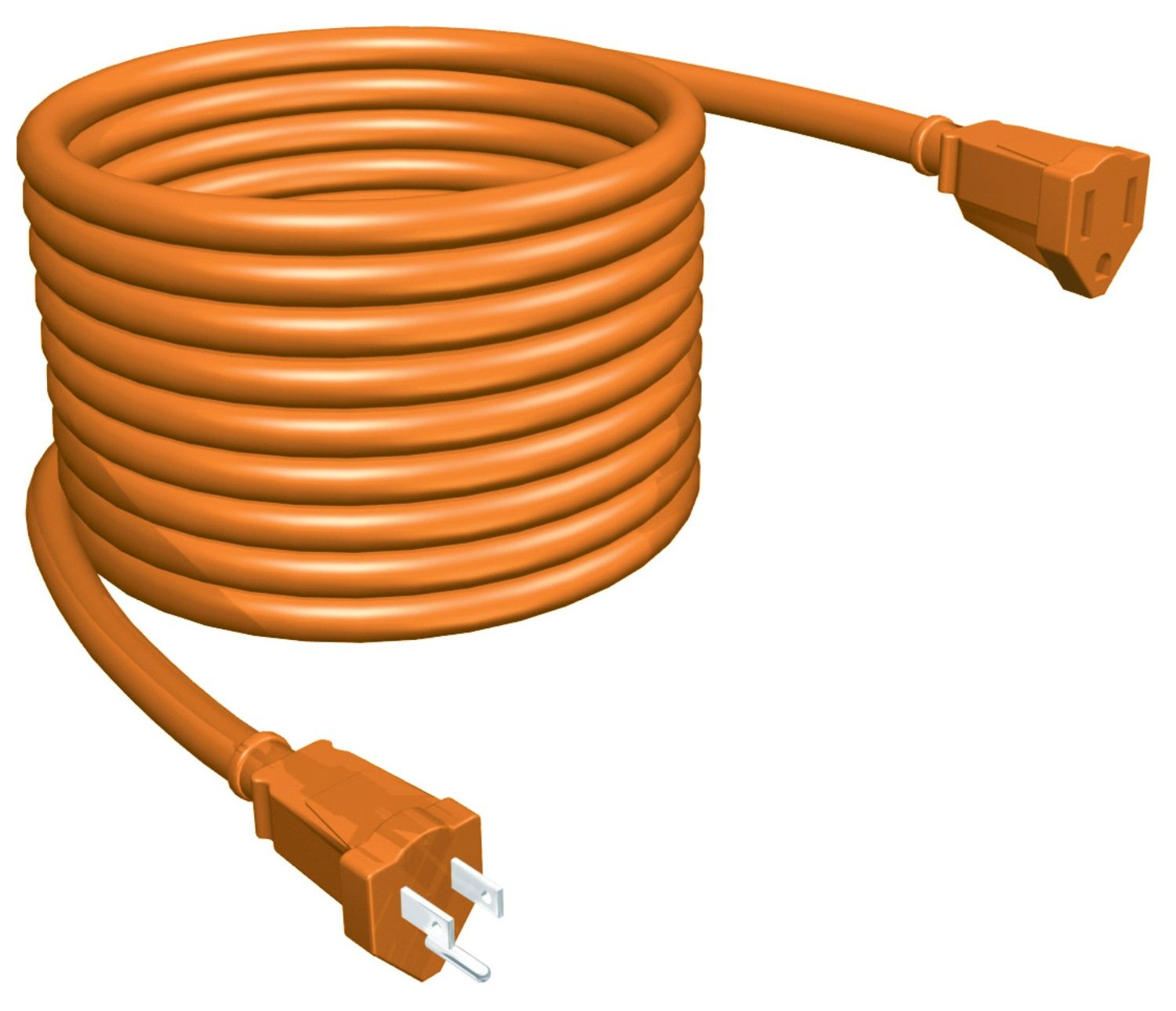 50-Feet Orange STANLEY 36504 PowerCord Grounded 14-Gauge Outdoor Extension Cord