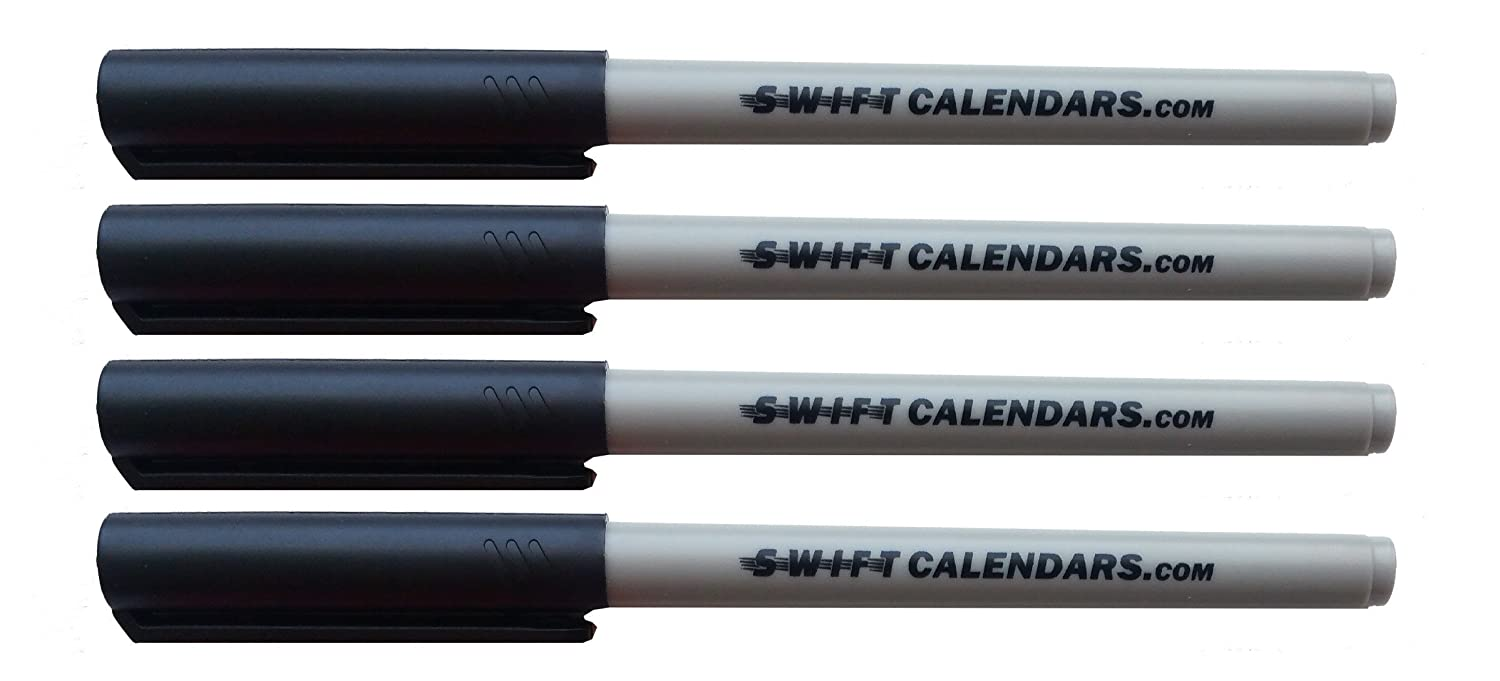 Wall Maps and Overhead Transparency SwiftGlimpse Wet Erase Water Soluble Erasable Markers Swiftmaps SG WET ERASE 8PK MULTI AVE 8PACK, MULTI Ideal for Wall Calendars