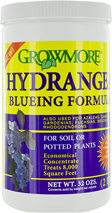 Grow More 7539 Hydrangea Bluing Formula, 2-Pound