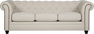 Coaster Home Furnishings 33.5 in. High Sofa in Cream