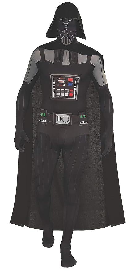 Rubies - Disfraz oficial de Star Wars Darth Vader, segunda piel, para adulto - Talla mediana