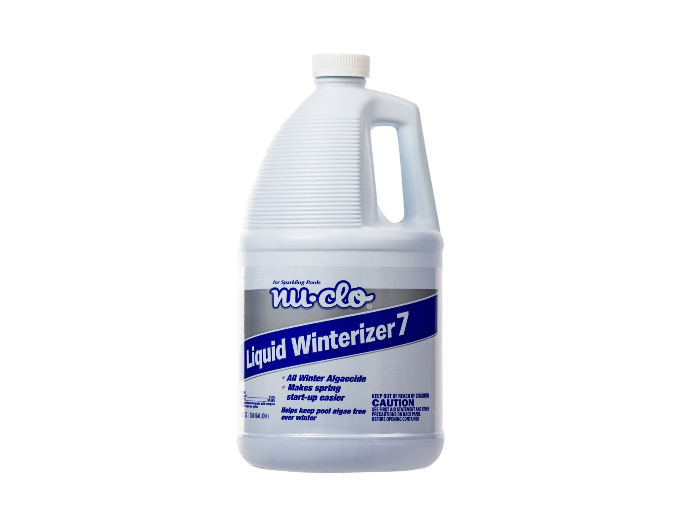 Nu-Clo Gallon Liquid Winterizer 7 Winter Algaecide for Swimming Pools - Up to 40,000 Gallons 2707 by Nu-Clo