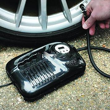 New Digital Air Compressor Pump Van Car Tyre Football Inflator Portable