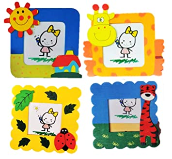 Birthday Popper Animal Photo Frame As Party Return Gifts For Kids With Free Gift Cover