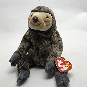 Ty Beanie Babies - Slowpoke the Sloth