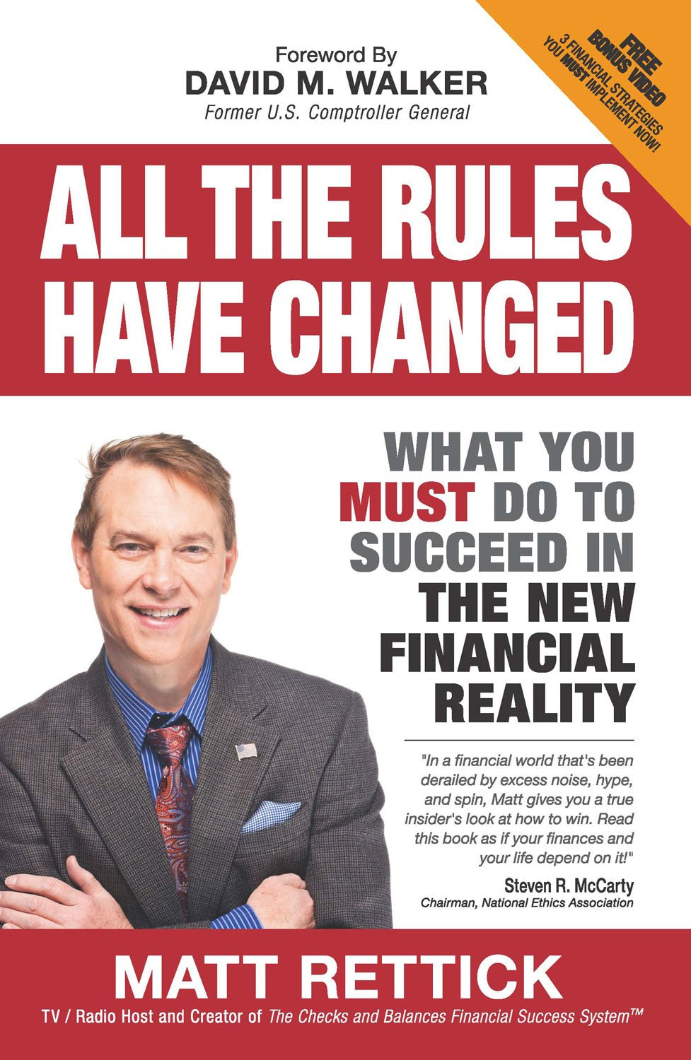 All The Rules Have Changed: What You Must Do To Succeed In The New  Financial Reality: Matthew J Rettick: 9780988557109: Amazon: Books