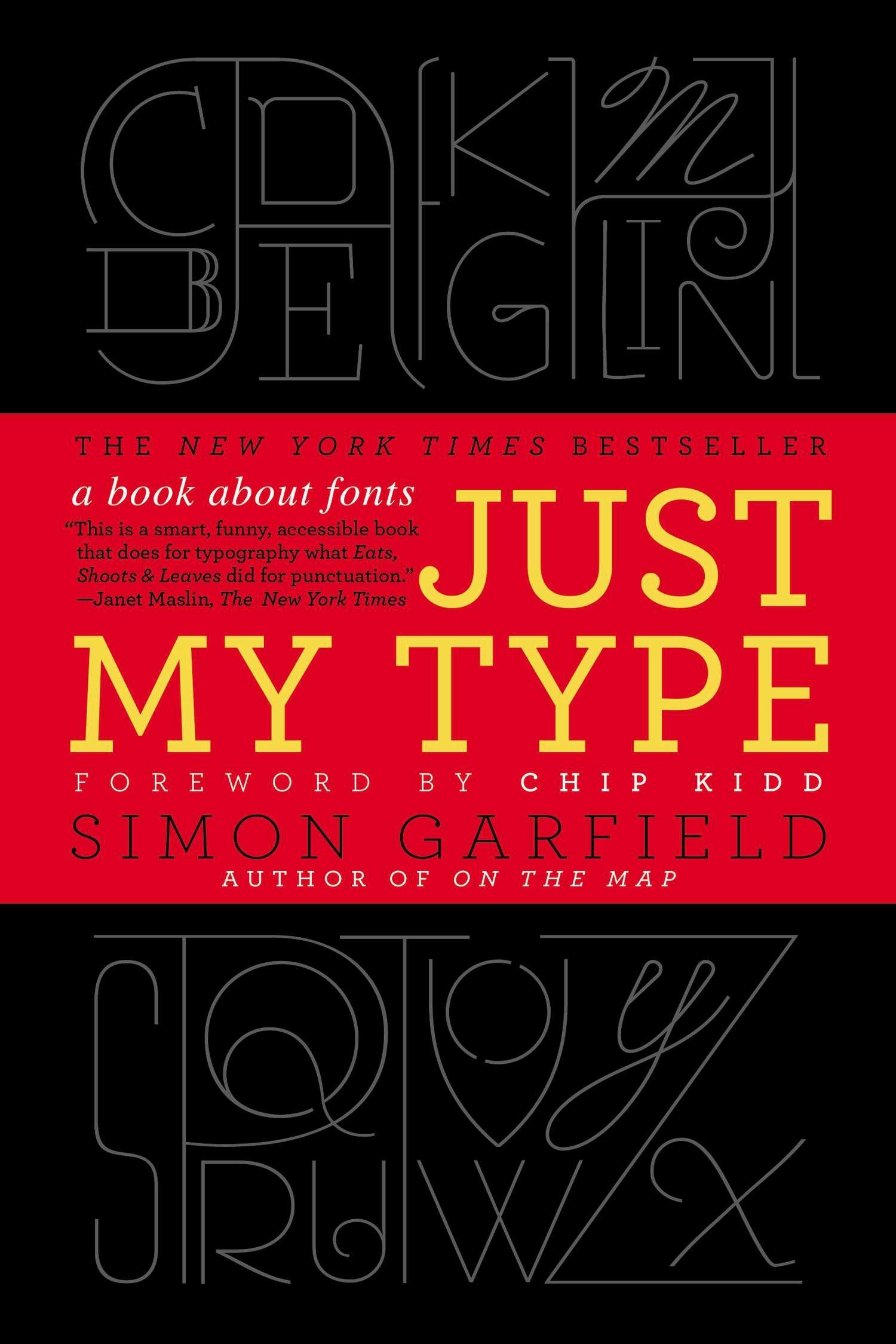 picture about Printable Fonts for Signs known as Simply just My Fashion: A E-book Over Fonts: Simon Garfield