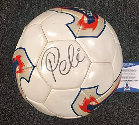 Brazil legend PELE Autograph Signed ADIDAS Soccer Ball ~ Beckett BAS COA -  Beckett Authentication - Autographed Soccer Balls at Amazon s Sports  Collectibles ... 5ac2cf0d9