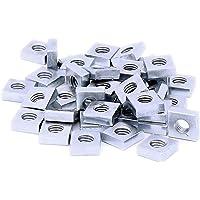 M6(6MM) carré Écrous–en acier (lot de 40)