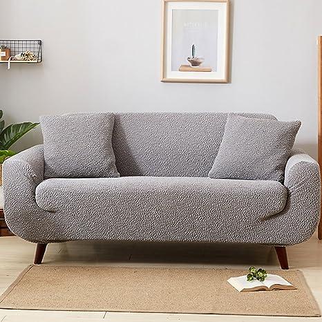 Color sólido de la Cubierta del sofá,Alta Elasticidad sofá ...