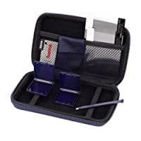 Hama 8in1-Zubehör-Set für Nintendo New 3DS XL (inkl. Tasche, Schutzfolien, Stift, Game Cases u.v.m.) blau