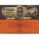 Autographix Basic Dashboard Trim Decals for Mahindra Xylo-12 (Rosewood)