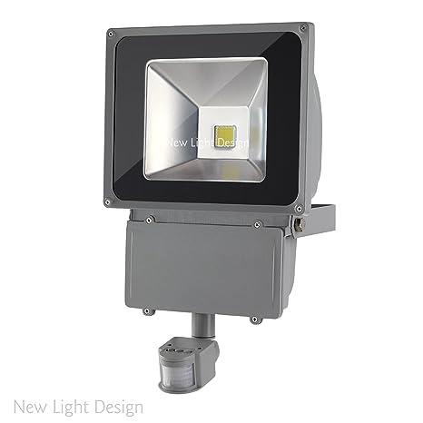 2er Set foco de LED foco LED Proyector con sensor de movimiento al aire libre de