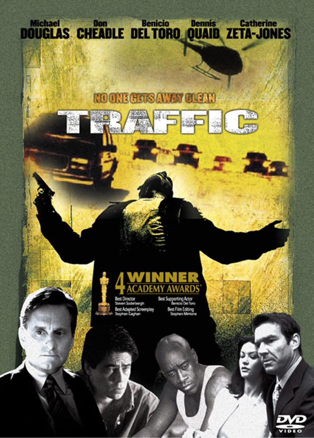 Traffic 2000 Michael Douglas Benicio Del Toro Catherine Zeta Jones Dvd Amazon Co Uk Michael Douglas Benicio Del Toro Steven Soderbergh Dvd Blu Ray
