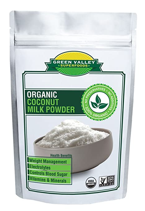 Green Valley Superfoods USDA - Polvo orgánico para leche de ...