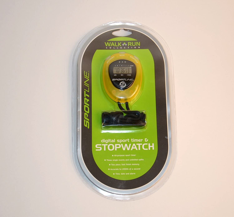 Sportline Digital Sport Timer /& Stopwatch