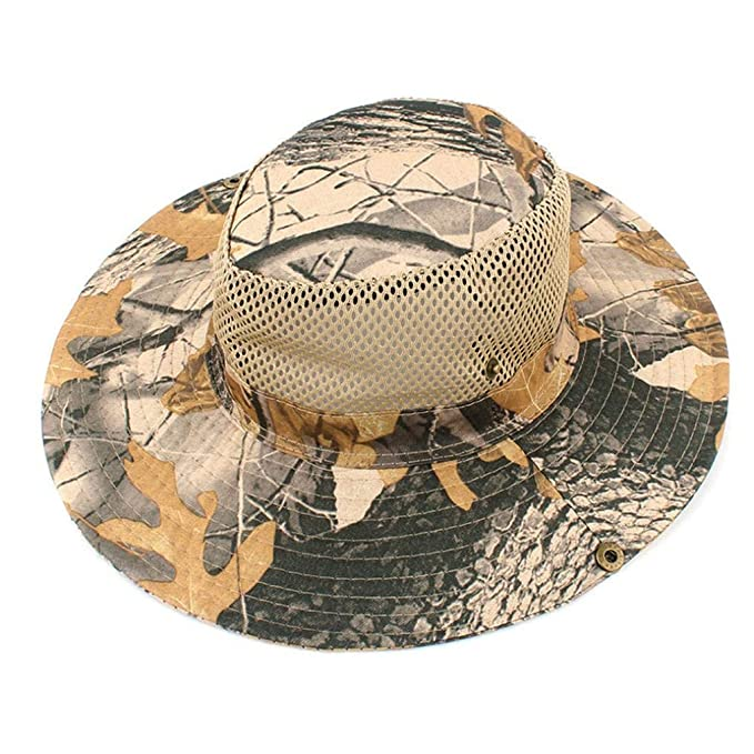 URIBAKE Bucket Hat Hunting Fishing Outdoor Cap Wide Brim Military Unisex Sun  Camo  Amazon.ca  Clothing   Accessories 22653b211124