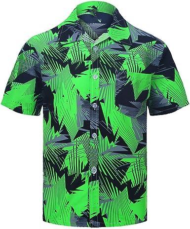 Camisas de Hombre Tallas Grandes, Cute Impreso Camisas de Verano Hombre Manga Corta Tops Blusa Casual Señoras: Amazon.es: Ropa y accesorios