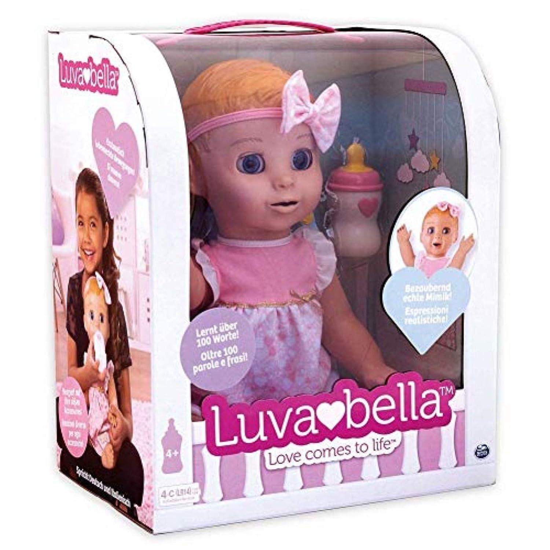 Luvabella - 6039298 - DEUTSCHE Version - Interaktive Puppe Spin Master