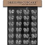 Dress My Cupcake Chocolate Candy Mold, Bows