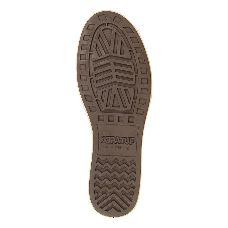 22401-BRN-130 XTRATUF Chumrunner Men/'s Nubuck Leather Deck Shoes 22401 Chocolate